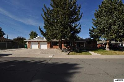 Carson City Single Family Home Active/Pending-Loan: 412 Tahoe Drive