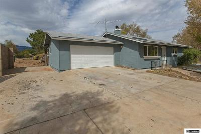 Washoe County Single Family Home Active/Pending-Loan: 125 W Coyote Drive