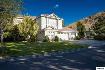 Carson City County Single Family Home Active/Pending-House: 227 Saint Albans Place