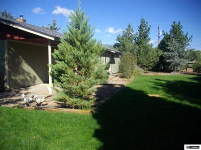 Washoe County Single Family Home Active/Pending-Loan: 325 W Coyote Drive