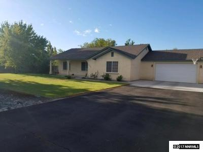 Fallon Single Family Home Active/Pending-Loan: 4065 Raven
