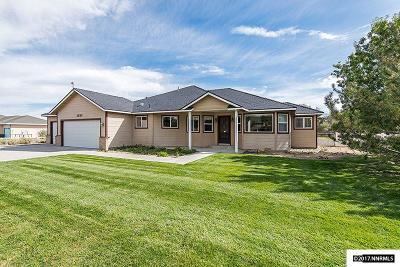 Gardnerville Single Family Home For Sale: 1833 Long Court