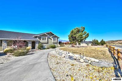 Gardnerville Single Family Home Active/Pending-House: 650 Rocking Horse