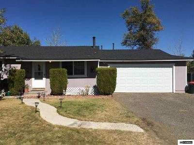 Gardnerville Single Family Home Active/Pending-Call: 1308 Muir