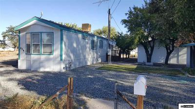 Yerington Single Family Home For Sale: 214 Gallagher