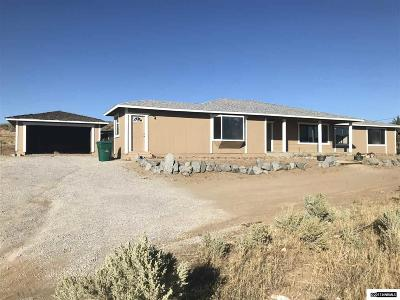 Reno Single Family Home For Sale: 1015 Mineral Flat Rd #NV