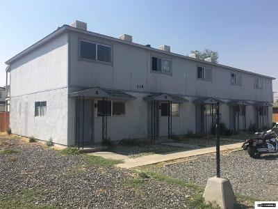 Fernley Multi Family Home For Sale: 335 Cedar Street