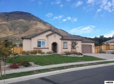 Genoa Single Family Home Active/Pending-Loan: 2801 Voight Canyon