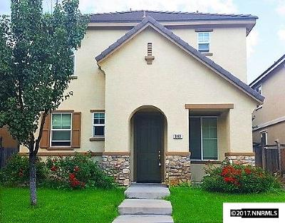 Washoe County Single Family Home Active/Pending-Loan: 3863 Dominus
