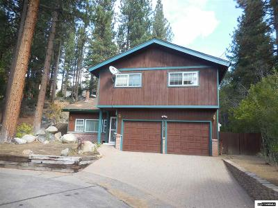 Zephyr Cove Single Family Home For Sale: 2 Elks Point Court