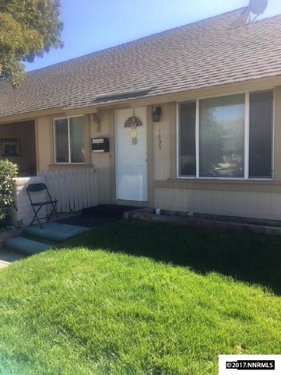 Sparks Condo/Townhouse Active/Pending-Loan: 1693 Manchester Way