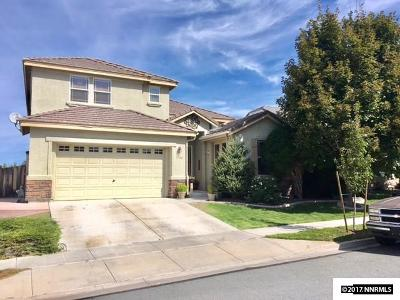 Sparks Single Family Home Active/Pending-Loan: 2780 Albazano
