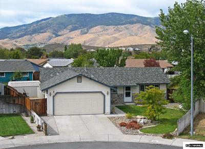 Carson City Single Family Home Active/Pending-Loan: 1633 Spruce