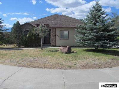 Carson City Single Family Home For Sale: 1034 Sunburst Dr.