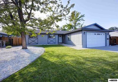 Carson City Single Family Home Active/Pending-Loan: 1954 Carriage Crest Dr