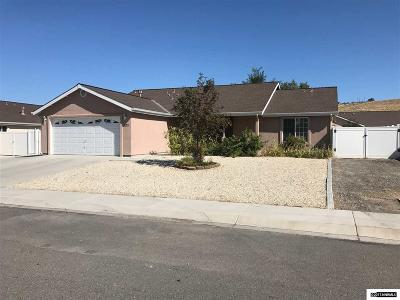 Fernley Single Family Home Active/Pending-Loan: 1473 Grey Bluffs Dr