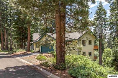 Incline Village Single Family Home For Sale: 695 Bidwell