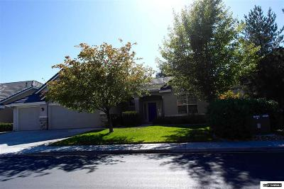 Reno Single Family Home Active/Pending-Loan: 1580 Rio Grande