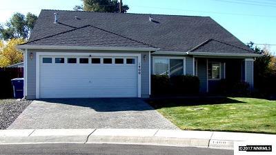 Gardnerville Single Family Home For Sale: 1400 Aldersgate Ct.