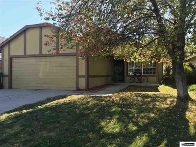 Sparks Single Family Home Active/Pending-Loan: 1707 Noreen Drive