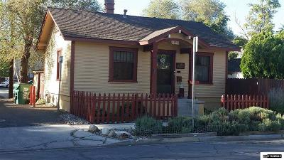 Sparks Single Family Home Active/Pending-Loan: 1129 E Street