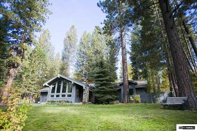 Incline Village Single Family Home For Sale: 718 James Ln