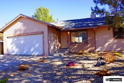 Washoe County Single Family Home Active/Pending-Loan: 2431 Melody Lane