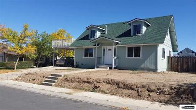Gardnerville Single Family Home Price Reduced: 729 Bowles Ln