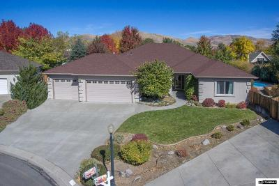 Carson City Single Family Home Active/Pending-Call: 1076 Gold Meadow Ct.
