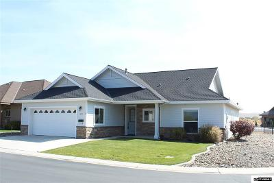 Gardnerville Single Family Home Active/Pending-Loan: 1204 W. Cottage Loop