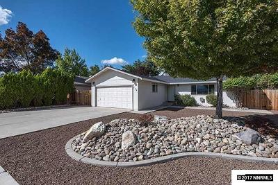 Gardnerville Single Family Home Active/Pending-Loan: 744 Long Valley