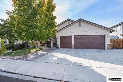 Sparks Single Family Home Price Reduced: 4829 Santa Barbara Avenue