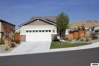 Sparks Single Family Home For Sale: 2752 Alessandro Dr