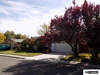 Carson City Single Family Home For Sale: 613 Norrie Dr.