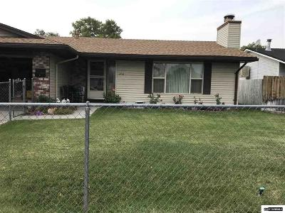 Sparks Single Family Home Active/Pending-Loan: 1116 El Capitan Court