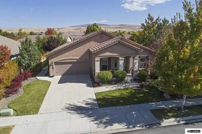 Sparks Single Family Home For Sale: 6485 Sun Flag