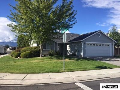 Gardnerville Single Family Home Active/Pending-House: 1307 W Aylesbury Court