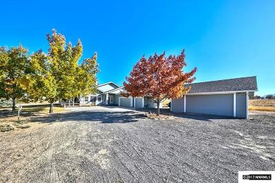Gardnerville Single Family Home Active/Pending-Call: 1826 Bitterbrush Ct