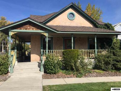 Carson City Single Family Home For Sale: 111 S Division