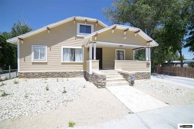 Reno, Sparks, Carson City, Gardnerville Single Family Home For Sale: 125/123/12 Caliente
