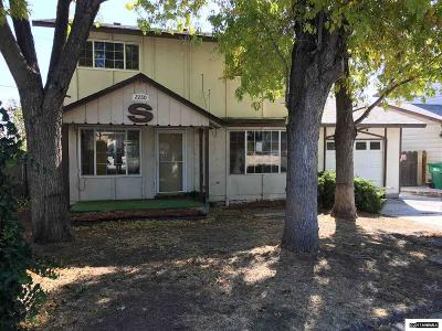 Reno Single Family Home For Sale: 2280 Tripp