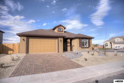 Fernley Single Family Home For Sale: 1282 Rainbow