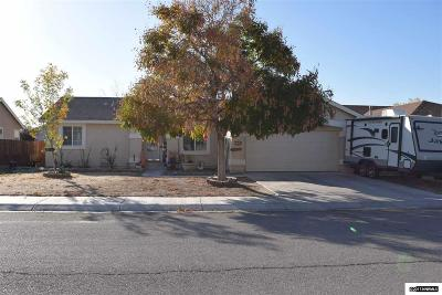 Fernley Single Family Home For Sale: 605 Winter