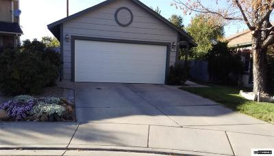 Sparks Single Family Home Active/Pending-Loan: 1230 Hollyhock
