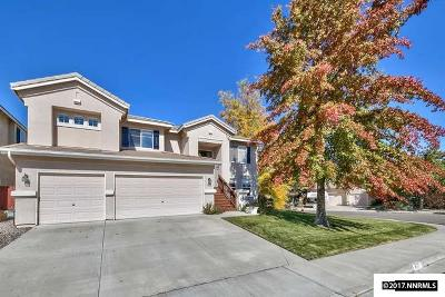 Reno Single Family Home For Sale: 8707 Damselfly