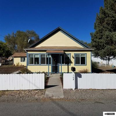 Yerington Single Family Home Active/Pending-House: 107 S California