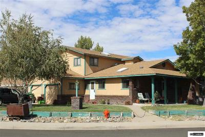 Carson City Single Family Home For Sale: 1645 Pullman