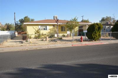 Reno Single Family Home Active/Pending-Loan: 1675 Trainer