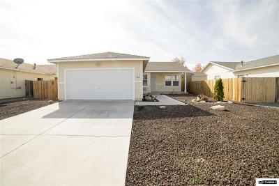 Fernley Single Family Home Active/Pending-Loan: 251 Emigrant Way