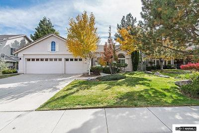 Reno Single Family Home New: 2169 Castle Rock Drive